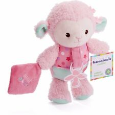 Garanimals Newborn Baby Lamb Pacifier Holder and Toy Cuddler Girl Sweet Pink NEW
