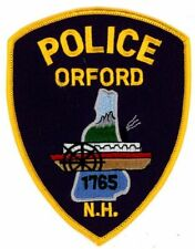 ORFORD NEW HAMPSHIRE NH POLICE NEW COLORFUL PATCH SHERIFF