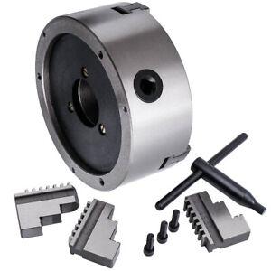 6 inche  3Jaw Self Centering Kit Lathe Chuck Milling Grinding K11-160 3600 r/min