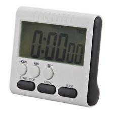 Digital LCD Kurzzeitmesser Küchenuhr Kurzzeitwecker Eieruhr Timer Magnet einfach