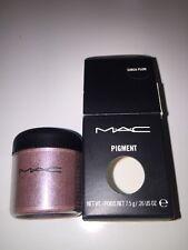 RARE MAC Pigment LOOSE EyeShadow EyeShadow .26oz/7.5g BNIB -  CIRCA PLUM