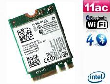 + Intel AC 3165 3165NGW  Dual Band 5Ghz 433Mbit/s WLAN+Bluetooth PCIe M.2 NGFF +