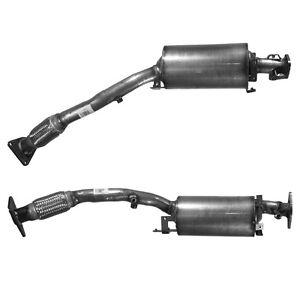 Diesel Particulate Filter DPF fits RENAULT KOLEOS NISSAN QASHQAI J10, JJ10 2.0D