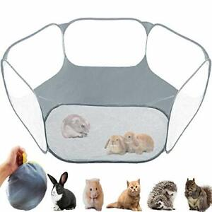 GABraden Small Animals TentReptiles CageBreathable Transparent Pet Playpen Po...