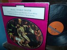 ROSSINI: Stabat Mater > Pavarotti Lorengar Sotin Minton Kertesz / Decca stereo F