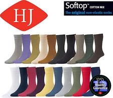 Cotton Blend HJ Hall Singlepack Socks for Men