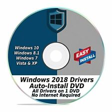 PC & LAPTOP Driver Pack For Windows XP/Vista/7/8/8.1/10 Install & Update DVD