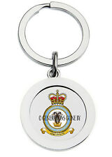 ROYAL AIR FORCE CENTRAL BAND KEY RING (METAL)