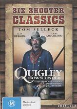 QUIGLEY DOWN UNDER - Tom Selleck, Laura San Giacomo, Alan Rickman - DVD