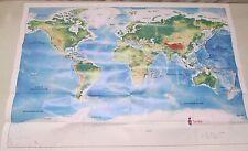 "Smile Train World Map Cleft Lip Pallet Surgery 32"" x 22"""
