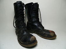 1970's Army Boots Pair-A-Trooper Georgia Boot Size 7 1/2 B Made in the U.S.A.