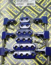 New Taylor Blue horizontal spark plug wire loom kit