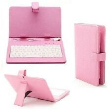 "7"" inch PU Leather USB/micro Keyboard Stand Case for Android Tablet A13 Q88 Gift"