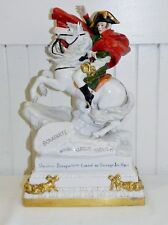 Antique Scheibe Alsbach Napoleon Crossing The Alps Porcelain Figurine Germany