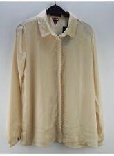 Damen Damenbluse Bluse Shirt NEU Maison Scotch beige Größe 42 XL
