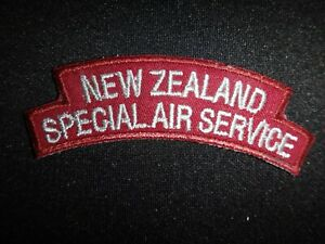 Royal New Zealand SPECIAL AIR SERVICE Patch