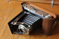 Vintage KODAK MONITOR SIX-16 Deluxe Camera leather field case 127 mm EC2123 lens