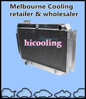 3 Row aluminum radiator for HOLDEN HQ HJ HX HZ 253 & 308 V8 Holden engine AT MT