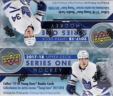 2017-18 Upper Deck Series 1 sealed retail box 24 packs of 8 NHL cards