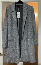 Next Petite grey coatigan size 10 P new with tags