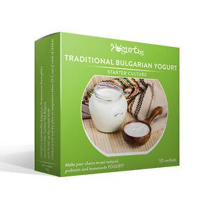 Yogurt.bg Starter Culture for Traditional Bulgarian Yogurt - 10 Sachets