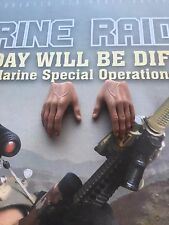 Soldier histoire marine raiders u.s. msot 8222 relaxed mains x 2 loose échelle 1/6th