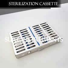 """STERILIZATION CASSETTE 7"""" x 5"""" Surgical Medical Dental Instruments"""