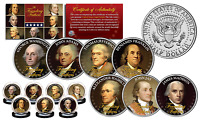 THE FOUNDING FATHERS of The United States JFK Kennedy US Half Dollars 7-Coin Set