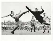 Vintage 1963 Ramiro Rodrigues Valente Madrid Football Soccer Wire Photo, Brazil