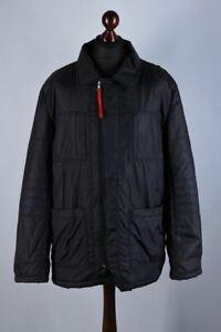 Prada Italy Classic Padded Field Jacket Size XL