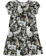 NWT~ Girls size 3/4 ~ MOLO ~ Camillia Miauuu Cat Dress