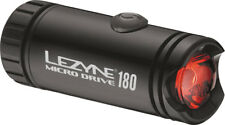 Lezyne MICRO DRIVE Cycling Bicycle LED Taillight 180 Lumen Rear Tail Light BLACK