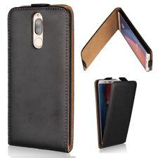 Huawei Mate 10 Lite à Rabat Pour Téléphone Portable Sac cuir veritable Magnétique Étui Housse Cover Bag