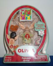 Olivia The Pig Famous Artist Playset with 3 inch Figure and Accessories NEW
