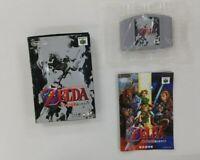 LEGEND OF ZELDA   With Box   Nintendo 64  N64   Japan UNUSED