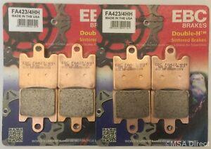 EBC Delanteras Sinterizadas Disco Freno Pastillas Para Triumph Trophy 1215 / Se