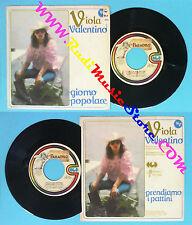 LP 45 7'' VIOLA VALENTINO Giorno popolare Prendiamo i pattini 1981 no*cd mc vhs