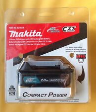MAKITA BL10218 RECHARGEABLE BATTERY PACK 12V CXT LITHIUM-ION 2.0 Ah, GENUINE NEW