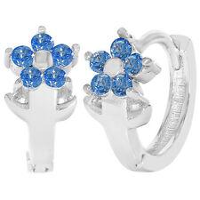 Hoop Gemstone Fine Earrings