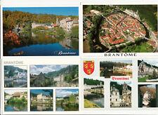 Lot 4 cartes postales DORDOGNE BRANTOME 1