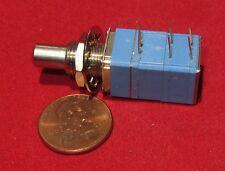Clarostat 5K OHM Audio Taper Pot w/ Momentary Double Pole 2 Switch NC NO DPST O