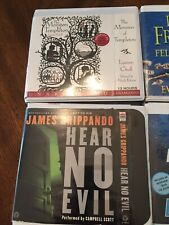 Audio Book On CD Lot Of 4