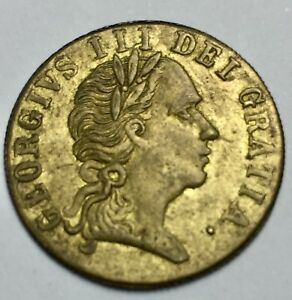 1701 George III (1760-1820) Impossible Date Guinea Token (A392)