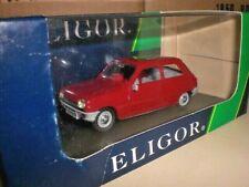 Eligor 100649 - Renault 5 3 portes bordeaux - 1:43 Made in France