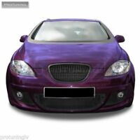 No logo grill for Seat LEON 1 BLACK SPORT BADGELESS FRONT GRILLE RS Altea 5P