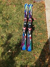 ADVANCED NORDICA DOBERMAN DOWNHILL SKIS 143 CM WAXED/TUNED MARKER Din12BINDING