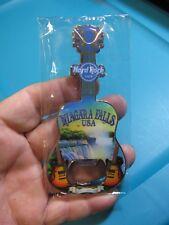 "NEW Hard Rock Cafe HRC 4.5"" Guitar Bottle Opener Magnet / Niagara Falls, USA"