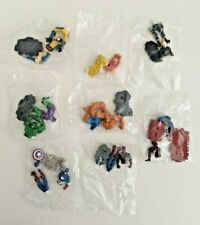 New 2007 Marvel 2 Inch Figures Lot of 8! Hulk, Spider Man, Wolverine