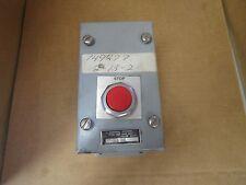 """JOSLYN CLARK CONTROL STATION 100T S1-4 5-5/8"""" X 3-1/4"""" X 3-1/8"""" 600 VAC NEW"""