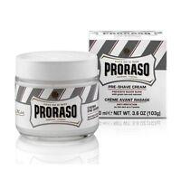 Proraso Pre & Post Crema Depilatoria per Pelli Sensibili 100ml Bianco